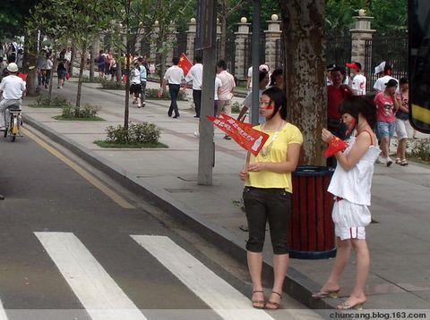 圣火点燃江城情 - chuncang - chuncan的博客欢迎你!