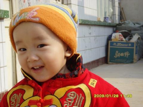 宝宝2009年照 - 潇雨 - 潇雨理财博客