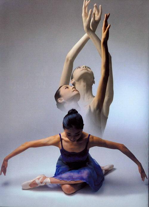 芭蕾舞者谭元元 - 唐萧 - 唐萧博客