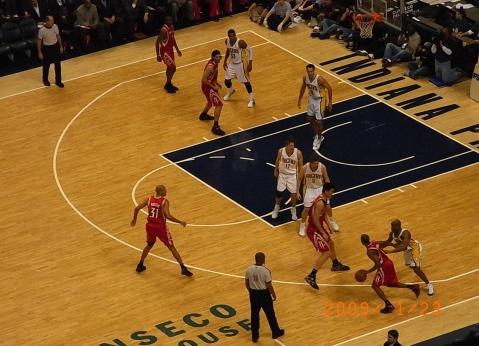 现场感受NBA - 鹏程万里 - 我的大学生活