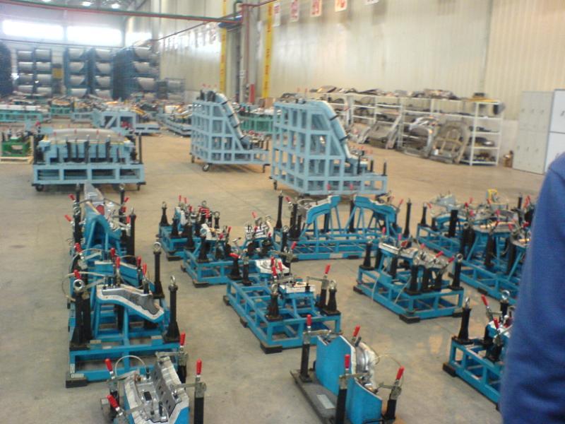 参观比亚迪西安生产基地 城岸 城岸高清图片