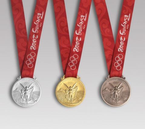 引用 (原创)奥运奖牌(金镶玉,银镶玉,铜镶玉) - 樵父 - 樵父