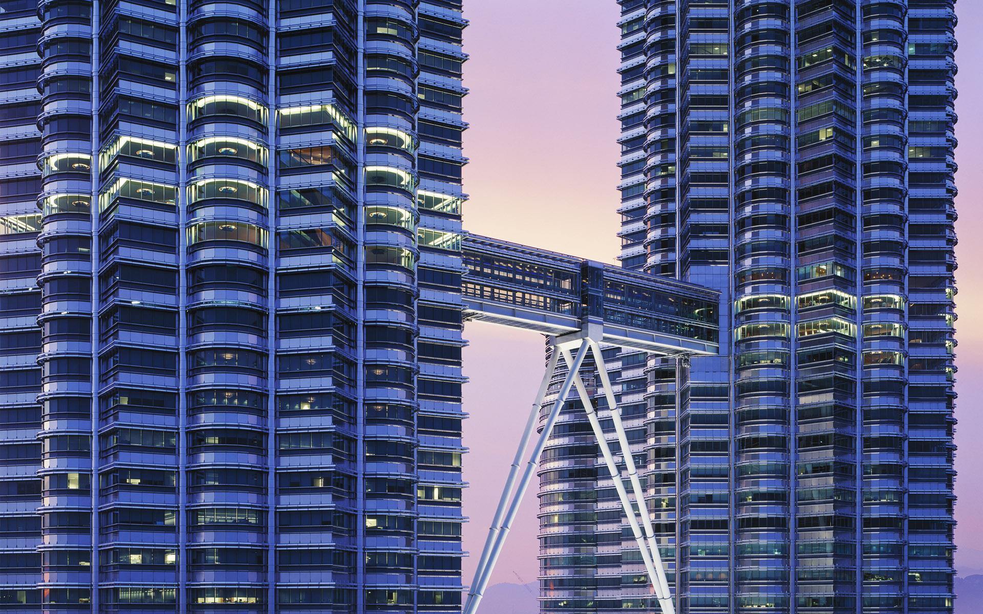 视觉大餐-宽屏都市大厦 - 沉默是金 -   沉默是金de家园
