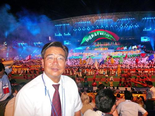 第八届大学生运动会开幕 - 廖新波 - 医生哥波子