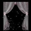 各种漂亮的窗帘透明flash动画效果
