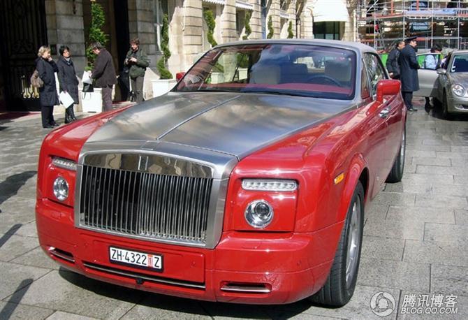 实拍劳斯莱斯幻影跑车 全哥 shengquan 007 的博客 高清图片