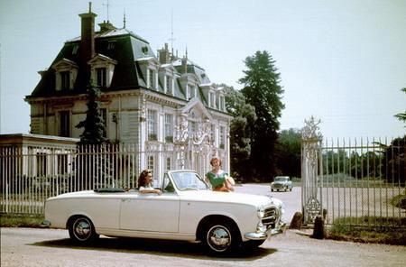 965年家庭型标致汽车-标致历史 百年传奇造就经典高清图片