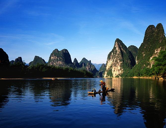 桂林山水甲天下 - 苦作舟居士 - 苦作舟居士的博客
