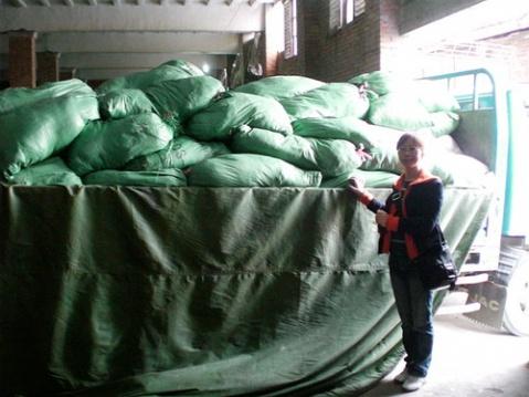 黑物流狂骗昧心钱 志愿者为灾区送棉衣紧急讨要 - 大樹 - 宝贝回家 公益事业