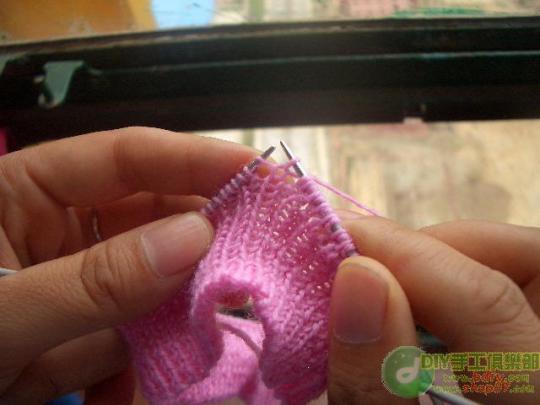 [引用] 一步一步教你织插肩毛衣的双边领 - gouzhizhe - gouzhizhe的博客
