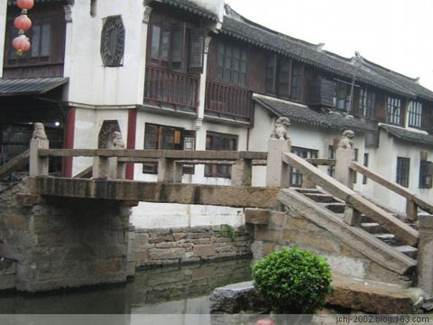 【原】小桥·流水·人家 - 太极 - 太极---天时地利人和