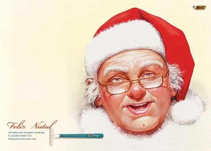 最有创意的圣诞广告 - 美丽心情 - 美丽心情