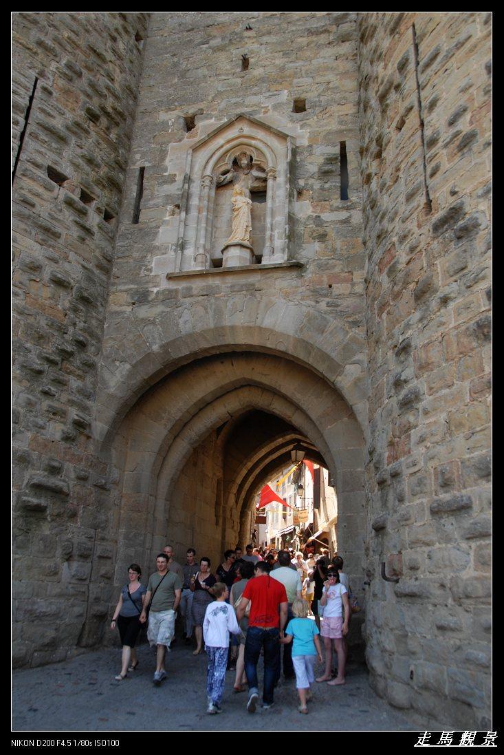 城堡之旅___卡尔卡松的古堡 - 西樱 - 走马观景