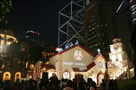 组图:圣诞节前的香港 - 潘石屹 - 潘石屹的博客