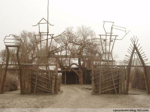 2008年3月30日春日南疆――库尔勒 - 红色毛芨芨 - 红色毛芨芨的博客