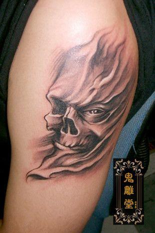 重庆纹身 鬼雕刺青