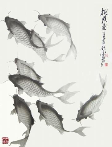 著名画家郭金龙金笔之作博售 - 雨中思 - 雨思的文學之旅……