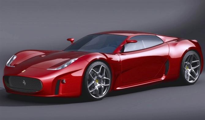 著名设计师luca serafini的2008法拉利f430概念车高清图片