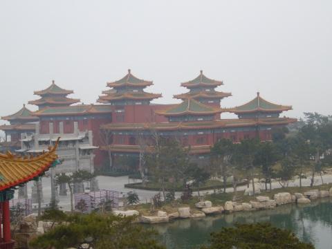 蓬莱三仙山景区美景 - 不自量自难忘 - 长弓射日