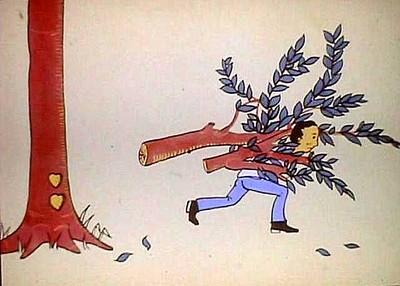 最感动的故事_男孩和苹果树 18