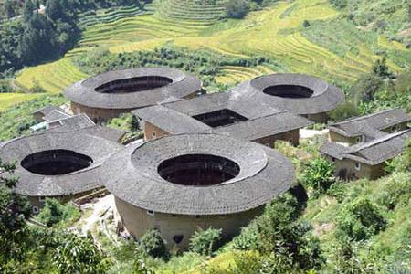 """曾被美国当作""""核基地""""的中国福建土楼"""