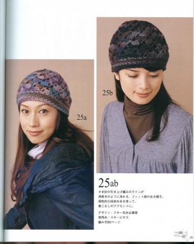 花色帽子+围巾 - 红色郁金香 - 我的博客