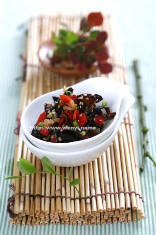 凉拌剁椒黑木耳 - 品味生活 - 我的美食学习