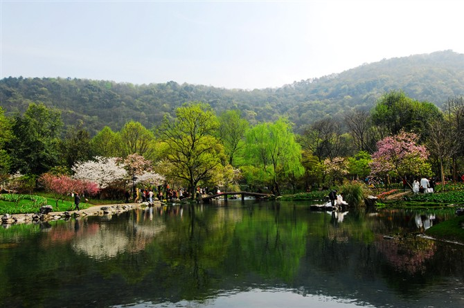 西湖风景  - 安国的博客 - 安国的博客