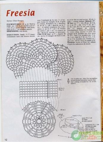 [钩针]漂亮帽子---带图解 - 听雨 - 听雨花园