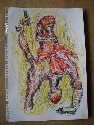 2007年的一些手稿 - 张羽魔法书 - 张羽魔法书
