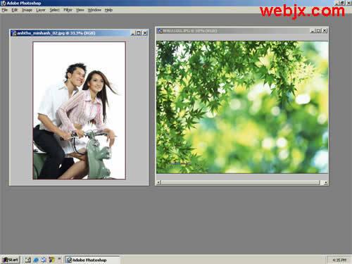 [PS教程]人物和风景照片的合成 - hanwa - 心灵的家园