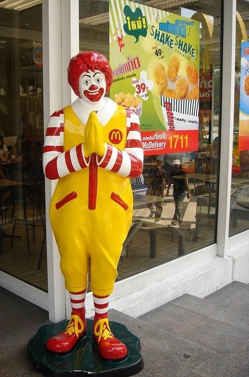 在泰国遭遇不一般的麦当劳叔叔 - 高昊 - 高昊 的博客