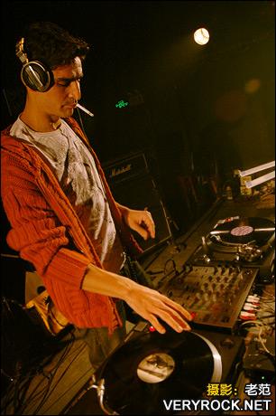 2007年11月3日 Rock  Electro Party - DJ David Lasserre(法国) - 老范 - 老范的博客