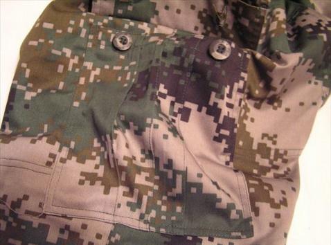 我的通用作训迷彩服 - 披着军装的野狼 - 披着军装的野狼
