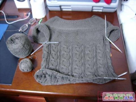 从上往下织的毛衣说明 - 大宝贝 - 小丫丫
