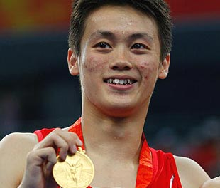 2008北京奥运会中国冠军精彩瞬间