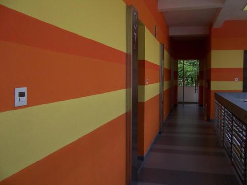 森林中的精神病医院高清图片