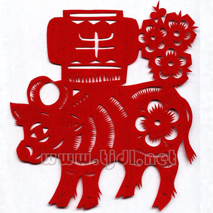 十二生肖( 李文梁-剪纸) - 李葫芦 - 艺痴葫芦