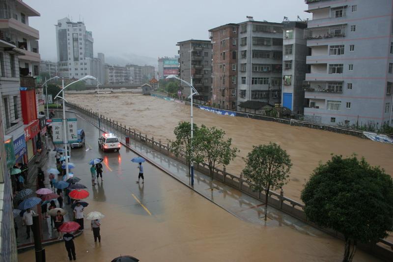 我这发生百年罕见洪灾(视频) - 岁寒三友 - 岁寒三友的博客