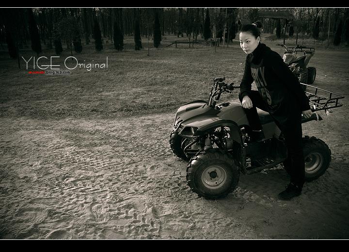 孟冬暖日(黑白篇) - 以歌 - 以歌原创 YIGE Original