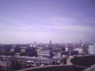 从我家楼顶看到的宣化
