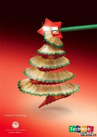 可爱的圣诞树 - 在水中的小鱼 - 在 水 中 的 小 鱼