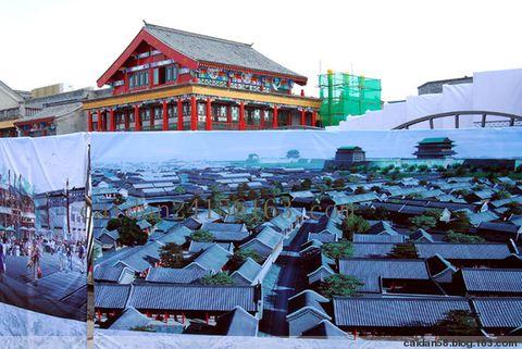 【原创】即将开街的前门步行街 - caidan58 - 摄影师陆岩的博客