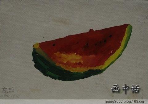 分享(9):香蕉越來越熟了 - 蓝桑的画中话 - 画中话