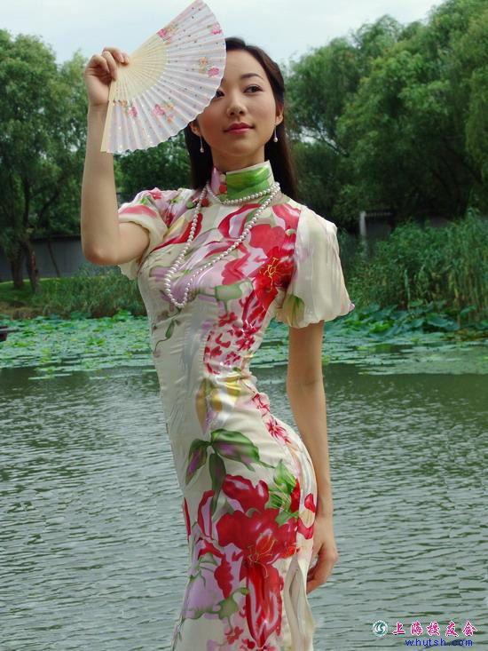 旗袍之韵 -  千岛仙子 - 千岛仙子的博客