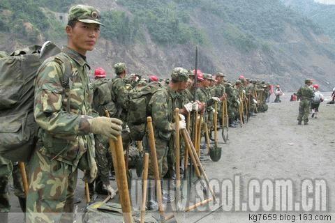 济南军区千名将校军官奋战在重灾区抗震一线(张玉清、孟斌) - 铁道兵kg7659 - 铁道兵kg7659