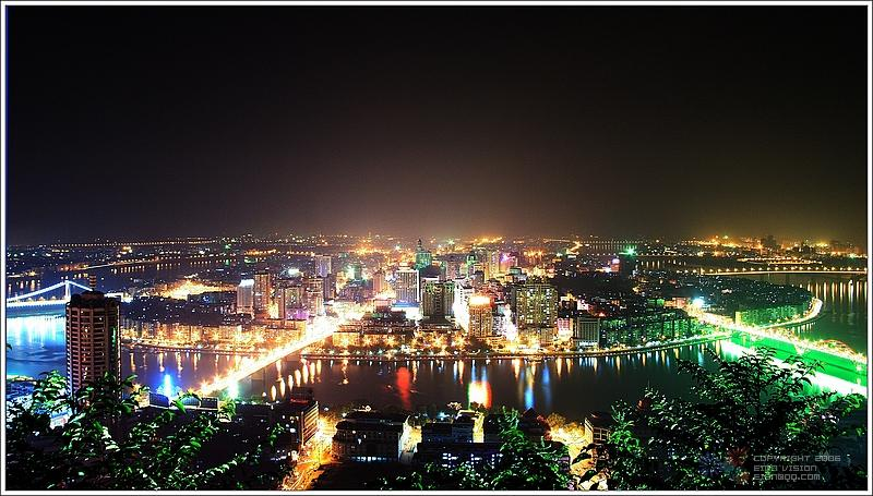柳 州 之 夜 剪 影 【原创摄影】 - 岁月无痕 - 岁月无痕