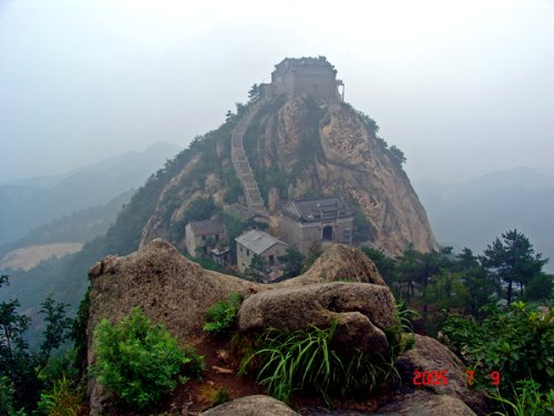 河南新县风景区的照片