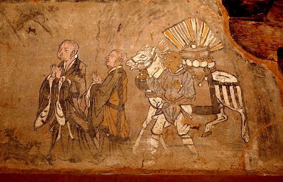 山西稷山青龙寺壁画-国宝级壁画珍品 - 杨毅 - 尚义轩杨毅剪纸