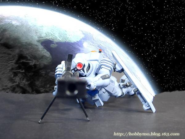 轨道上疾驰的幻影——HGUC 兹达 - 摸神 - 猫猫和愉快的伙伴们